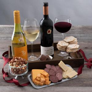 Wine & Gourmet Gift Crate 99.99