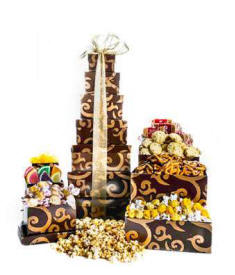 Tower of Treats With Cookies And More $54.99