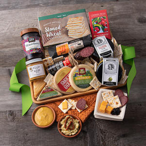 Artisan Meat & Cheese Gift Basket