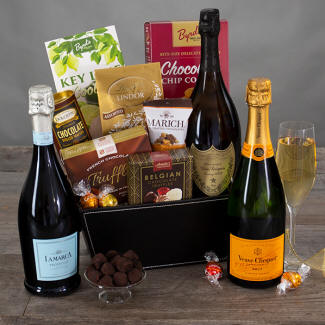 Champagne & Truffles Christmas Gift