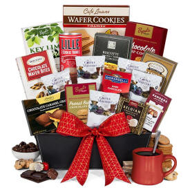 Coffee & Chocolate Gift Basket $119.99 Delivered Next Day