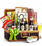 Beer & Snacks Birthday Basket