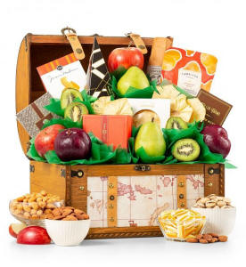 Fruit and Gourmet Delight Basket $89.95