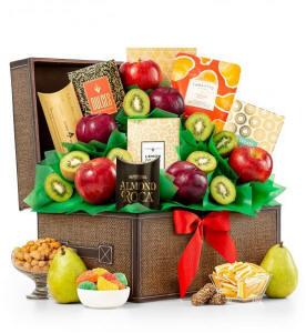 Fresh Fruit and Gourmet Keepsake Chest $69.95