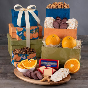 Fruit & Gourmet Gift Tower 49.99