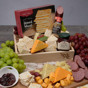 West Warwick Gourmet Meat & Cheese Sampler