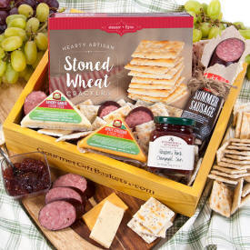 Gourmet Meat & Cheese Sampler 37.99 Shipping To New York
