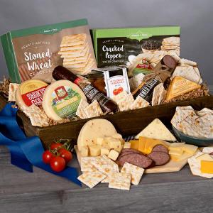 Gourmet Meat & Cheese Basket $69.99