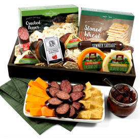 Meat & Cheese Sampler 69.99 delivery to Bomoseen