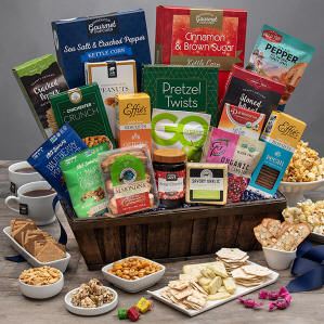 Healthy Deluxe Gift Basket