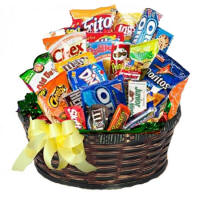 Junk Food Birthday Basket $44.95