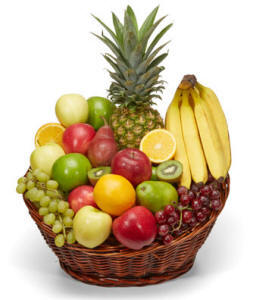 All fruit basket same day delivery in West Virginia