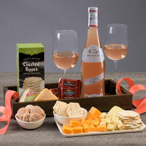 Rose Wine Gift Crate 69.99