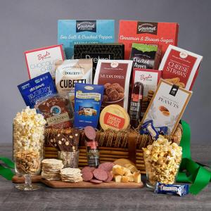 Snack & Gourmet Gift Basket