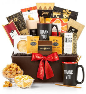 Deluxe Thank You Gourmet Gift Basket $59.95
