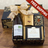 White Wine Snack Box $42.99