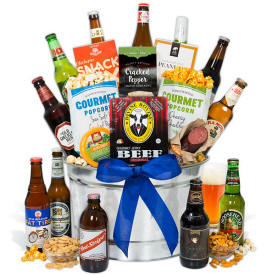 Beer Gift Basket For Men $119.99 12 beers home delivery