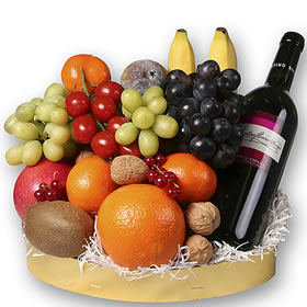 Mississippi Wine And Fruit Gift Baskets Same Day Delivery