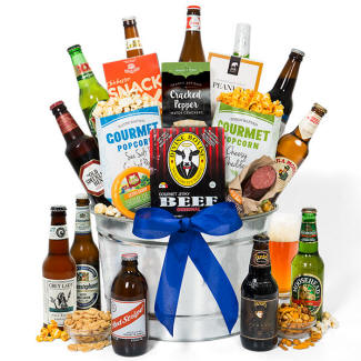 Around The World Beer Bucket Gift