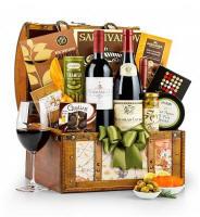 Thanksgiving Wine Gift Basket