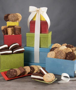 Bakery Style Gift Tower With Cookies