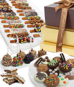 Belgian Chocolate Covered Gift Tower