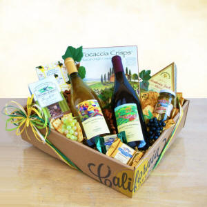 Best of California Wine Gift Box $59.99