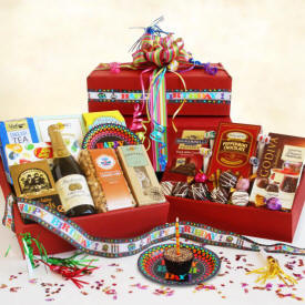 Birthday Party In A Box - Wine Basket Delivery To Norwalk
