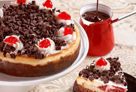 Black Forest Cheesecake Delivered