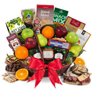Bountiful Harvest Fruit Basket