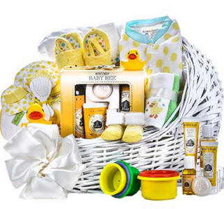 Burts Bees Baby Gift Basket