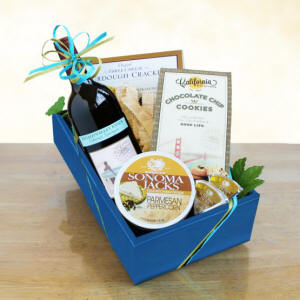 Cabernet Wine & Cheese Gift Basket $37.99