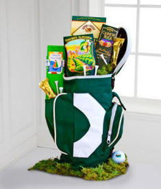 Caddy Snack Golf Gift Basket