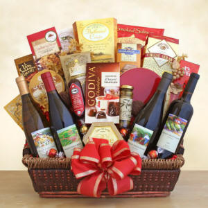 California Gourmet Wine Gift Basket $151.99
