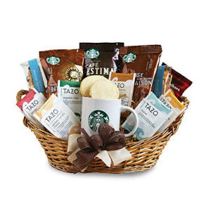 California Starbucks Coffee Gift Basket For Woosley Thousand Oaks Fire