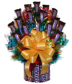 Snickers Candy Bouquet $64.99