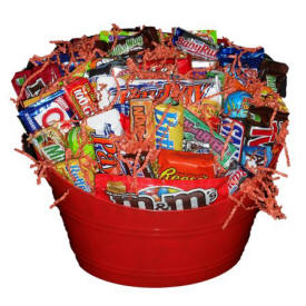 All Candy Gift Basket