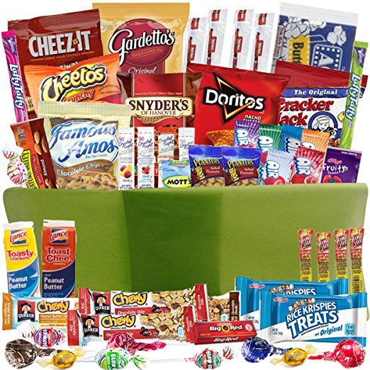 Catered Cravings Snack Gift Basket Fast Two Day Delivery