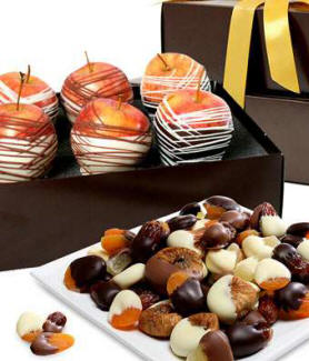 Chocolate Covered Fruit Tower