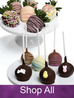 Chocolate Covered Gifts Strawberries Apples Pears Fruit Cake Pops