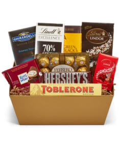 Chocolate Lovers Basket $54.99
