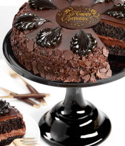 Chocolate Mouse Torte Birthday Cake 5499 Next Day Delivery This Is The Lovers Dream With Two Layers Filled Generously