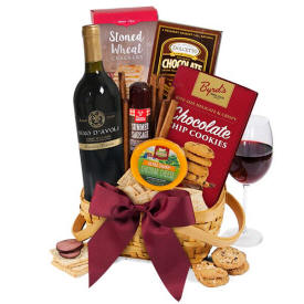 Classic Red Wine Gift Basket 6999