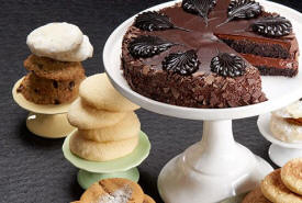 Classic Cake with One Dozen Assorted Cookies Deliverd