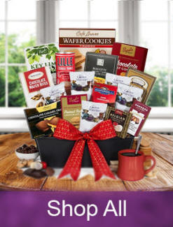 Coffee and Tea Gift Baskets Great Housewarming and Thank You Gifts