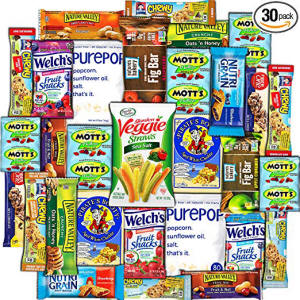 College Box Healthy Snack Care Package