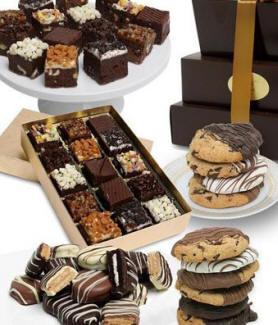 Cookies & Brownies Tower