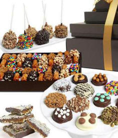 Belgian Chocolate Gift Tower $74.99 Connecticut Delivery