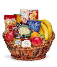 Deluxe Gourmet Fruit Basket
