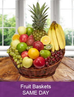 Fruit baskets same day delivery to Pittsburg